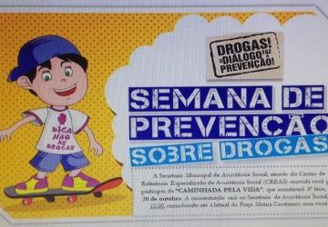 SEMANA DE PREVENÇÃO SOBRE DROGAS!