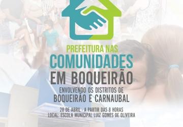 Atenção comunidade de Boqueirão!