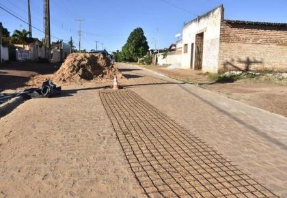 Prefeitura finalizou o calçamento no centro de Boqueirão.