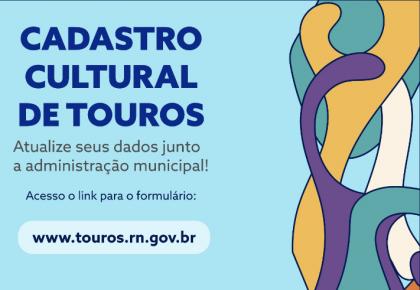 Cadastro do setor cultural do município