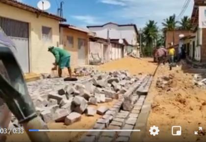 Prefeitura segue dando continuidade à obras e desenvolvendo nossa cidade.